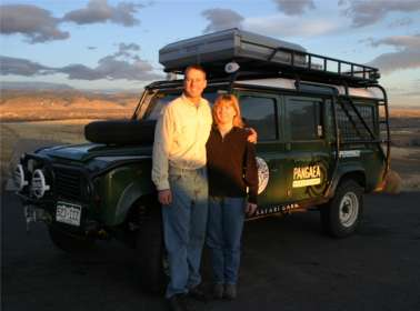 Click here to see how Jen and Witt customized their Rover.